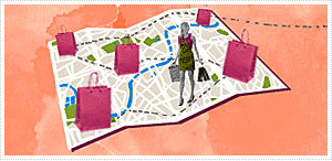 Plan your shopping trip