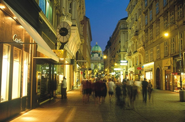 Best Shopping Streets In Vienna Global Blue