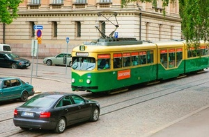Finnish Tour Tram