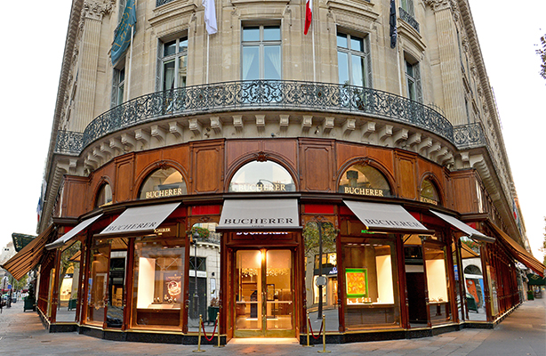 Bucherer s new parisian store is the largest watch and - Office tourisme italien a paris ...