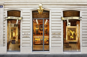Fauré Le Page store on Rue Cambon