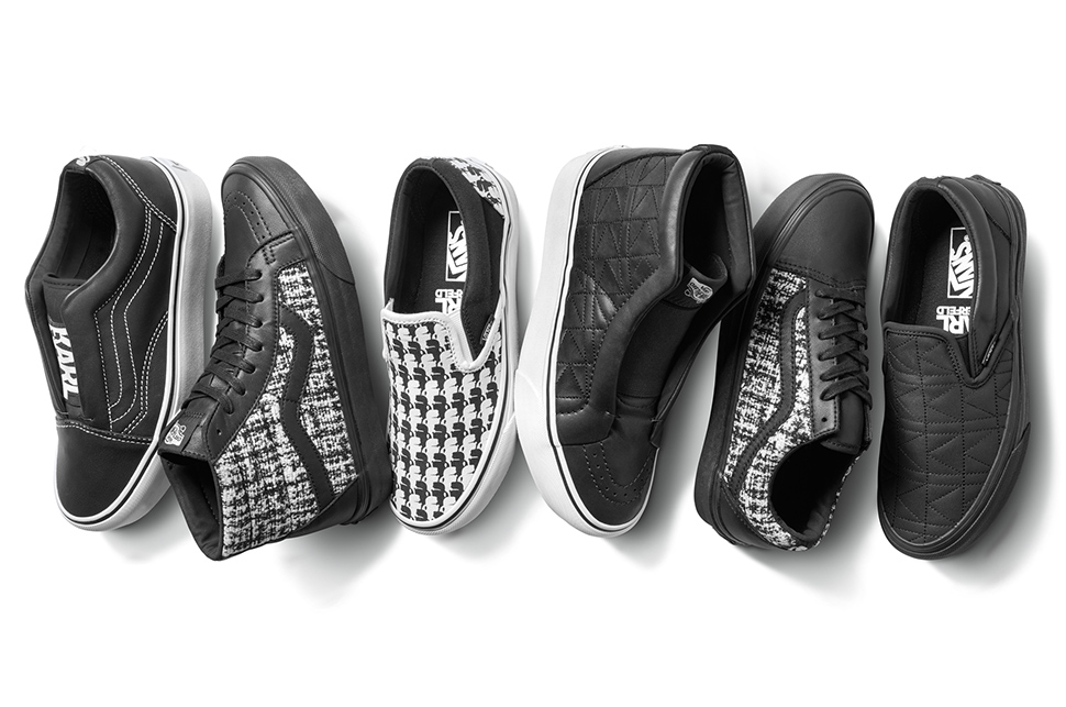8a4e1f79cc5330 Vans x Karl Lagerfeld collection