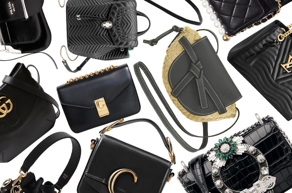 1c73e0a4ef59 The best black handbags for SS19 | Global Blue