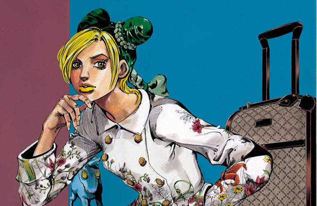 Gucci hosts fashion manga exhibition