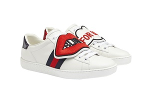 Gucci customisable Ace sneaker patches