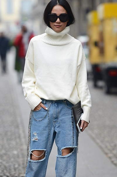 c49711b4df905 Top street-style outfits from Milan Fashion Week AW17   Global Blue