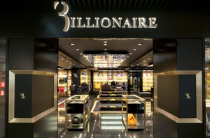 14 luxury shopping boutiques in Rome's Fiumicino Airport