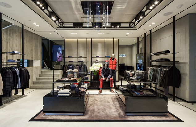 Hugo Boss Has A New Omotesando Boutique For The Style