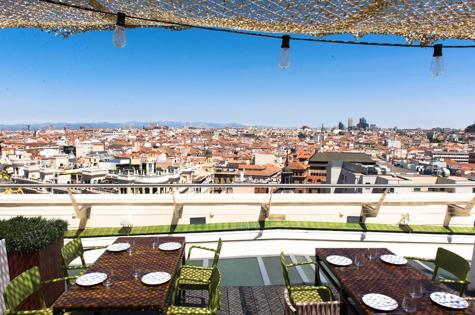 The Best Rooftop Bars And Restaurants In Madrid Global Blue