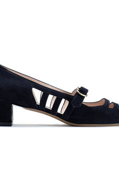 Suede Alizee baby-doll pump, Bally spring/summer 2011