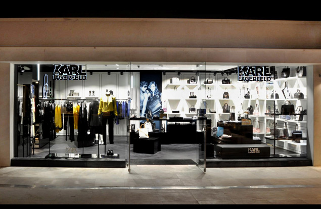 karl lagerfeld opens new istanbul concept store global blue. Black Bedroom Furniture Sets. Home Design Ideas