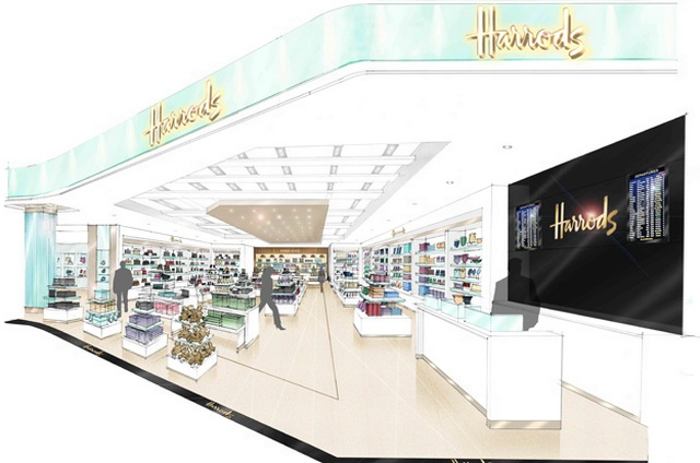 709034f37 Harrods transforms airport shopping at Gatwick | Global Blue