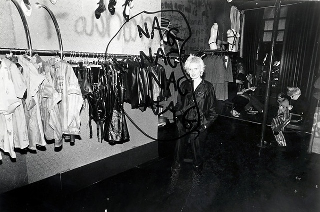 5a4aac7a84 vivienne westwood worlds end boutique kings road london archive image circa  1975