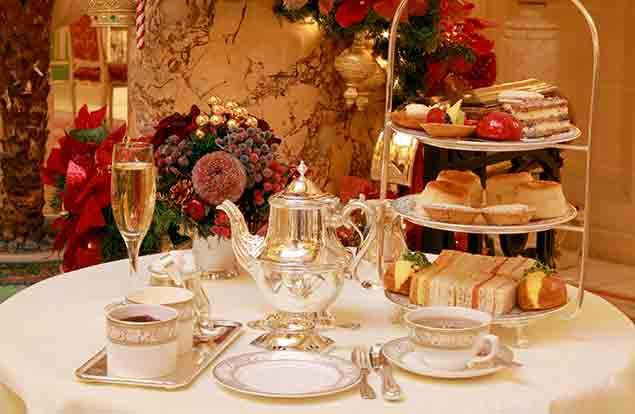 Christmas At The Ritz London.Best Christmas Afternoon Teas 2015 Global Blue