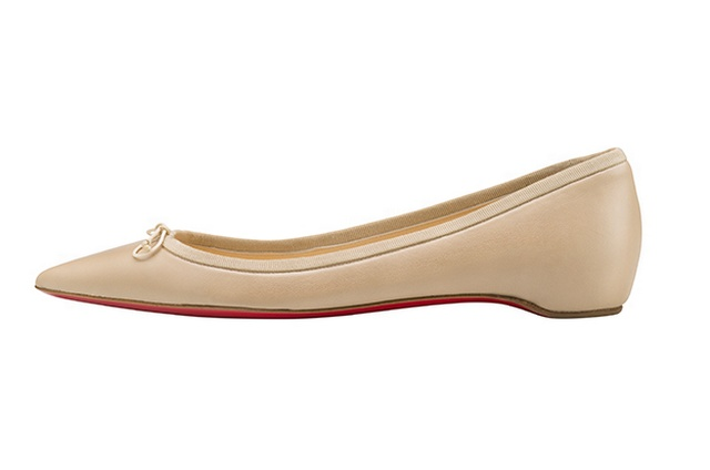 Christian Louboutin Must Have Nude Solasofia Ballet Flats Global Blue
