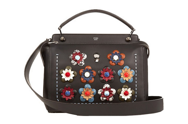 Black rebecca minkoff floral applique camera bag ref ox bags