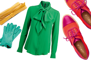 Wear Marc Cain's brights this winter